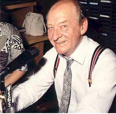 "Cawood KY. native Cawood Ledford.  The ""Voice of the Kentucky Wildcats""."