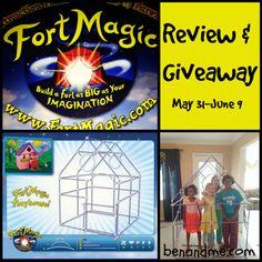Fort Magic Fort Building Kit GIVEAWAY!! $199 value! #kids #toys