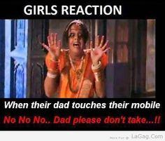 Girls Reaction