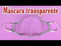 MÁSCARA TRANSPARENTE FÁCIL DE FAZER - YouTube Easy Face Masks, Diy Face Mask, Diy Projects To Try, Sewing Projects, Sewing Dolls, Diy Mask, Learn To Sew, Crafts For Teens, Needle And Thread