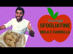 sfogliatine di mele e cannella- dessert light (facile e veloce) - YouTube