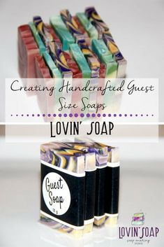 Creating Handcrafted Guest Size Soaps | Lovin Soap Studio