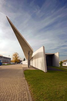 Completed in 1993, the Vitra fire station would be Hadid's first realized project of her career, which would eventually launch her name and style to an international audience.