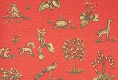 Either for dining room or a kid's room? --normally, I'm not into red, but like this..Rockwell, Red on OneKingsLane.com