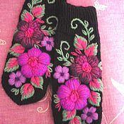 Магазин мастера Марина Мишина: варежки, митенки, перчатки, большие размеры, шапки, платья, береты