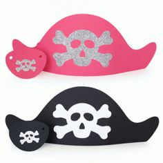 Silhouette Online Store: pirate hat and eye patch