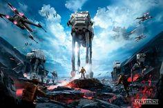 Image de Poster STAR WARS - Battlefront