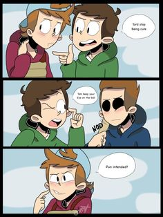 Even though I don't ship TomTord, THIS IS STILL ADORABLE AND AWESOME!