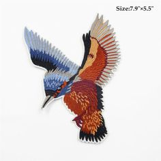 kingfisher patch