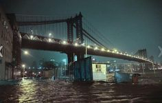 NYC flooded by Sandy... :(