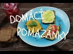 Veganské pomazánky - YouTube Plant Based Eating, Avocado Toast, Tofu, Vegan Recipes, Cooking, Breakfast, Ethnic Recipes, Youtube, Blue