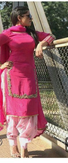 Indian Designer Suits, Indian Suits, Indian Wear, Punjabi Suits Party Wear, Punjabi Salwar Suits, Crazy Dreams, Patiala Suit Designs, Shruti Hasan, Fashion Ideas