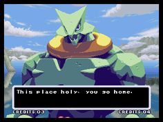 Galaxy Fight: Universal Warriors Neo Geo When you lose you get comments like this one.