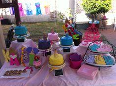 Princess Party Dessert Table