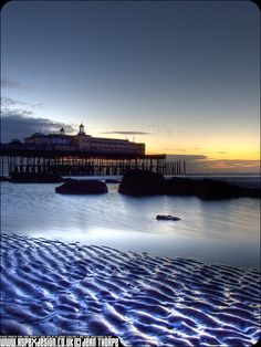 My favourite Hastings Pier HDR photo