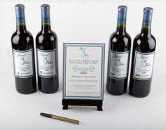 Wine Bottle Guest Book