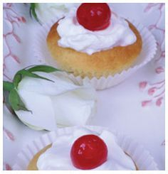 This is a site that contains an almond flavoured cupcakes recipe. Cupcake Flavors, Cupcake Recipes, Dessert Recipes, Desserts, Fresh Cream, Good Housekeeping, Kitchen Recipes, Sweet Tooth, Almond