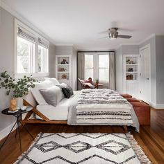 Bedroom with Moroccan influences