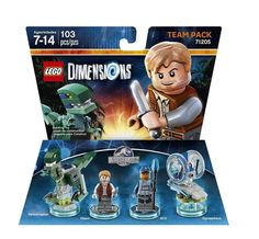 LEGO Dimensions Jurassic World Team Pack 71205 Xbox One Wii U for sale online Ps4 Games For Kids, Lego Games, New Jurassic World, Lego Jurassic, Lego Sports, Buy Lego, Lego Movie, Wii U, Nintendo Wii