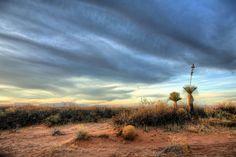 El Paso desert skyline