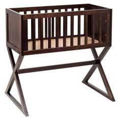 modern and understated bassinet from Babyletto at Target $129.99