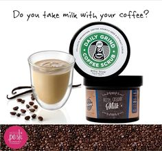Wake up your skin with coffee and milk every morning. www.perfectlyposh.com/lisawells