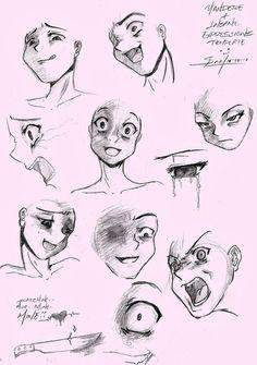 Yandere Template -sketch- by Saido-Chan.deviantart.com on @deviantART