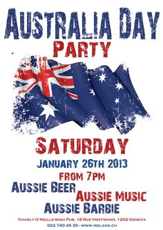 australia day | Australia Day Party | Geneva Irish Pubs