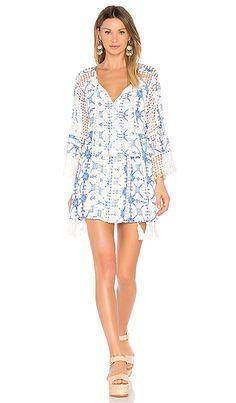 THURLEY Silk Tassel Dress em Multi   REVOLVE