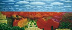 A closer grand canyon de David Hockney -1998