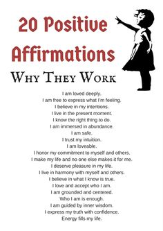 21 Positive Affirmations and Why They Work