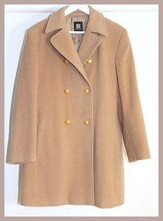 Vintage Accessoires - Vintage Mantel Wolle Creme/beige - ein Designerstück von Coco-Mademoiselle1 bei DaWanda