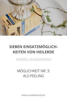 Heilerde |Allroundtalent - Möglichkeit Nr. 3: Als Peeling Shampoo, Oil Control, Organic Beauty