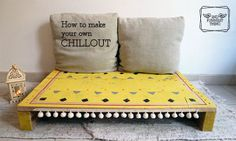 2nd Funniest Thing : DIY and unique pieces: Cómo hacer chillouts con pallets / How to make chillouts with pallets