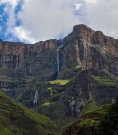 Tugela Waterfall Landscape Design, Waterfall, Mountains, News, Places, Nature, Travel, Naturaleza, Viajes