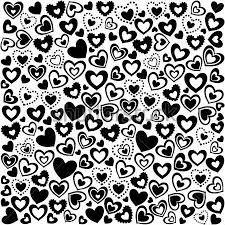 papel decorativo blanco y negro de corazones buscar con
