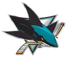 San Jose Sharks Color Auto Emblem - Die Cut