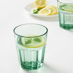 Refresh your home - IKEA - POKAL, Glass, green, Also suitable for hot drinks. Made of tempered glass, which makes the glass durable and extra resistant to impact. Water Glass, Pint Glass, Iphone Wallpaper Fall, Kitchenware, Tableware, Canned Heat, Kitchen Wall Art, Kallax, Mugs