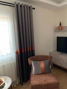 Room Colors, Curtains, Living Room, Decoration, Nice, Interior, Design, Home Decor, Decorating