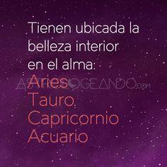 #Aries #Tauro #Capricornio #Acuario #Astrología #Zodiaco #Astrologeando astrologeando.com