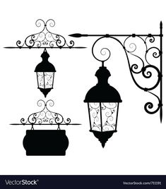 Street lantern vector image on VectorStock Lantern Drawing, Arte Do Harry Potter, Old Lamps, Wall Drawing, Street Lamp, Pen Art, Easy Drawings, Vector Art, Painting