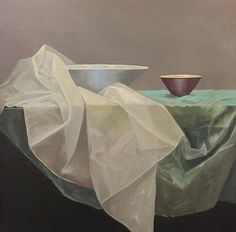 Petra Reece Still Life with Red Bowl - 2014 Oil on linen 93 x 93 cm Be Still, Still Life, Red Bowl, Australian Artists, Muted Colors, New Words, Petra, Art History, Oil On Canvas