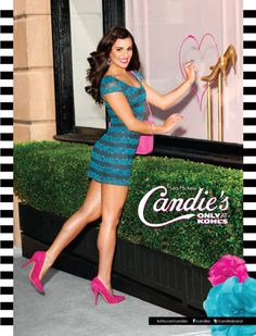 Lea Michele gets flirty in Candies Fall 2012 campaign ads