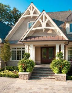 Home Renovation & Addition - Front Entrance, Oakville | whitehallhomes.ca