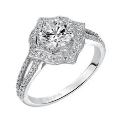 Shop ArtCarved in High Point, NC. ArtCarved since With one of the largest selections of engagement rings and wedding bands. Timeless Engagement Ring, Vintage Inspired Engagement Rings, Split Shank Engagement Rings, Engagement Ring Photos, Round Cut Engagement Rings, Halo Diamond Engagement Ring, Diamond Rings, Diamond Jewelry, Bridal Rings