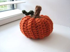 Crochet PumpkinFall AutumnThanksgiving by RoseJasmine on Etsy, $5.00