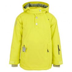 Mason Fluro Yellow Side Zip Jacket