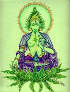 Cannabis Goddess.