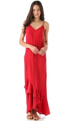 Vix Swimwear Lana Cover Up Maxi Dress