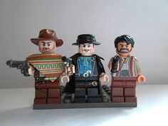 The Good the Bad and the Ugly Minifigures